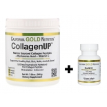 Collagen UP hüdrolüüsitud kollageenipeptiidid hüaluroonhappe ja C vitamiiniga + Q10 100mg
