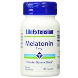 Life Extension Melatoniin 1mg 60tbl