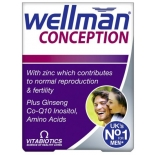 Wellman Conseption vitamiinid meestele 30tbl