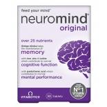 Neuromind Original vitamiinid ajutegevuse ja mälu heaks 30tbl