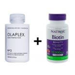 Olaplex no 3 juuksehooldus 100ml + Biotiin 10 000mcg 60tbl
