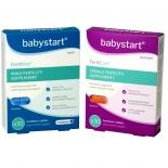 Babystart FertilCare + FertilMan vitamiinid mehele ja naisele 60tbl