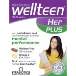 Wellteen Her Plus 28+28 tbl teismelisele tütarlapsele