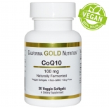 California Gold Nutrition koensüüm Q10 100mg
