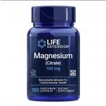 Life Extension magneesium tsitraat 100mg - 100 vegankapslit