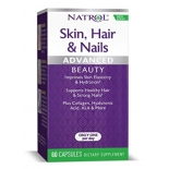 Natrol Skin, Hair & Nails Advacnced Beauty 60tbl