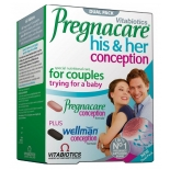 Pregnacare His & Her vitamiinid 60tbl