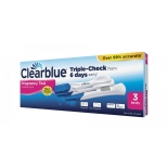 Clearblue Triple-Check 3 varajast rasedustesti (2xEarly + Accurate Reading)